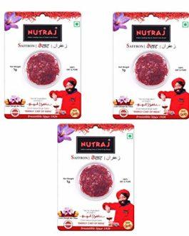 Nutraj Saffron Blister Pack 3g (3 X 1g)