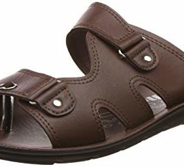 Unistar Men's Leather Hawaii House Slippers-9...