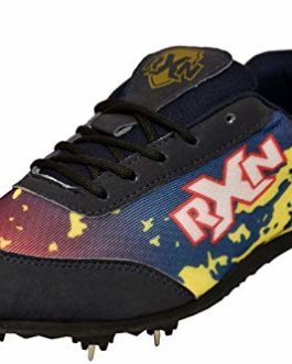 RXN Bolt Running Golden Spikes Marathon Shoes-RS-12 Golden 6