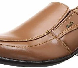 BATA Men's Cooper Brown Formal Shoes-8...