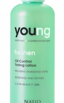 Natio Young For Oily Combination Skin Freshen Oil Control Toning Lotion, 200ml