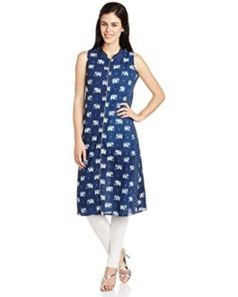 Mother Earth Women's A Line Kurta