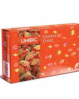 Unibic Cookie Crest 700 g (Free Diyas inside)
