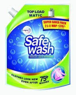 Safewash Matic Liquid Detergent Top Load...