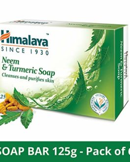 Himalaya Herbals Neem And Turmeric Soap,...