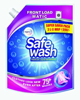 Safewash Matic Liquid Detergent Front Load 2L