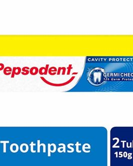 Pepsodent Germicheck Toothpaste – 150 g (Pack of 2)