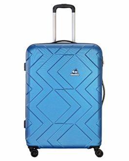 Kamiliant by American Tourister Kam Ohana ABS 33 cms Blue Hardsided Check-in Luggage (KAM Ohana SP 78CM – H Blue)