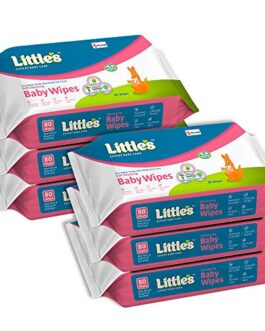 Little's Soft Cleansing Baby Wipes with...