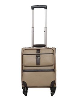 Mboss 29 Ltrs Ivory and Brown Laptop Roller Case (ONT 081 Ivory Brown)