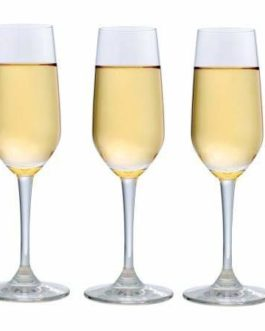 Ocean Champagne Flute Glass Set of 3
