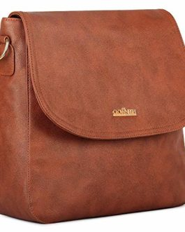 The Clownfish Enchantress Sling Bag for Women | Messenger Bag | Sling Bag | (Sand Brown) TCFSLFL-RSSBR1