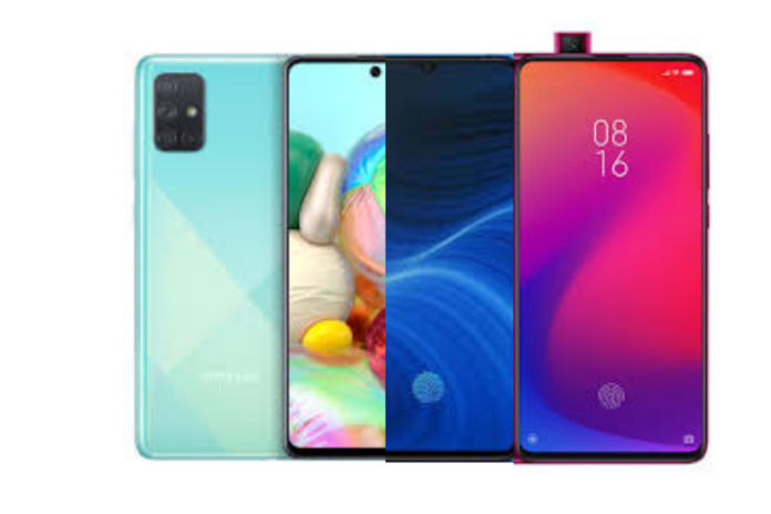 Samsung Galaxy A71 versus Realme X2 Pro versus Redmi K20 Pro: Price in India, Specifications, Features Compared