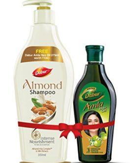 Dabur Almond Shampoo, 350ml with Free...