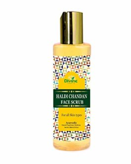 Divine India Haldi Chandan Face Scrub,...