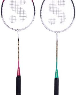 Silver's Sb-414 Gutted Badminton Rackets(Multicolor)