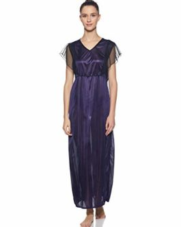 Klamotten Satin Long Women Nightwear.