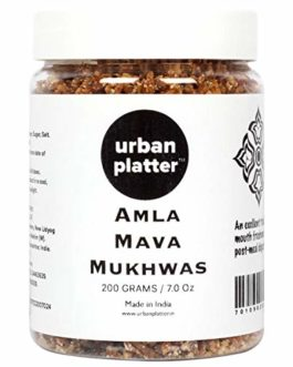 Urban Platter Amla Mava Mukhwas, 250g / 8.8oz [Mouth Freshener, Avla, After-Meal Snack]