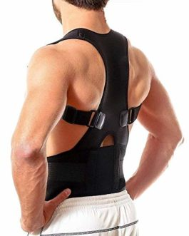 UNIK BRAND™ Unisex Magnetic Back Brace Posture Corrector Therapy Shoulder Belt for Lower and Upper Back Pain Relief, posture corrector men for women,back support belt for back pain