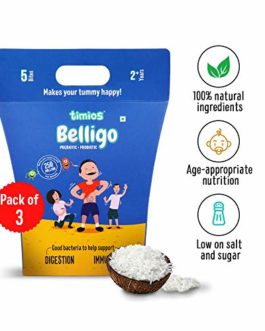 Timios Belligo Probiotics-Prebiotics Bites-Pack of 3
