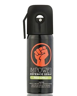 Impower Self Defence Red Chilli Spray for Woman Safety – 55ML