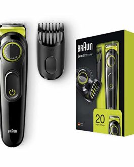 Braun BT3021 Trimmer (Black)