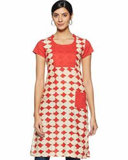 [Size S, L]  Rangeelo rajasthan Women's cotton straight Kurta