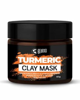 Beardo Turmeric Clay Mask For Men,...