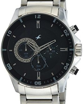 Fastrack Chrono Upgrade Analog Black Dial Men's Watch -NK3072SM02