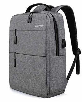 Veyiina Nero 15.6 inch 36L Casual Laptop Backpack/Office Bag/School Bag/College Bag/Business Bag/Unisex Travel Backpack(Grey)
