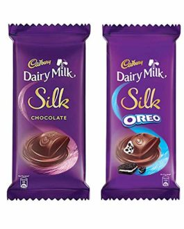 Cadbury Dairy Milk Silk Large Chocolates Combo (Silk Plain 150g, Silk Oreo 130g), 280 g