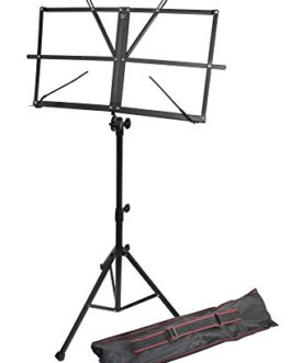 Windsor 050151-BK Music Stand with Bag...