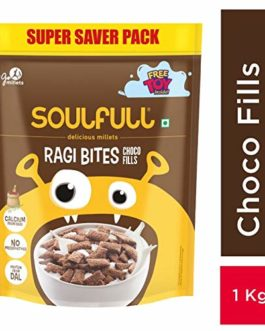 Soulful Ragi Bites with Choco Fills...