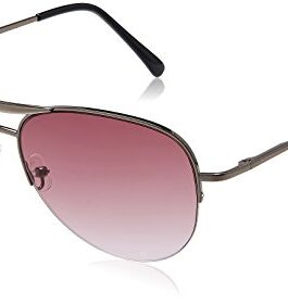 Fastrack Aviator Women's Sunglasses (M083PR3F|Purple)