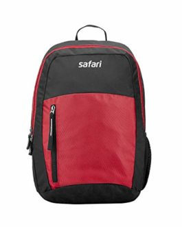 Safari 26 Ltrs Red Casual/School/College Backpack (CHAMP19CBRED)