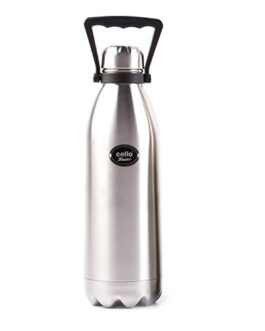 Cello Swift Steel Flask, 1.5-Litre, Silver