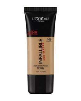 L'Oreal Paris Infallible Pro-Matte Foundation, Natural...