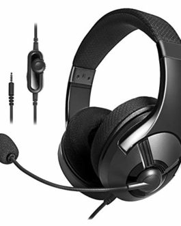 AmazonBasics Gaming Headset – Black