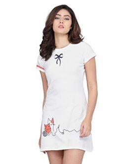 J B Fashion Lycra Polyester a-line...