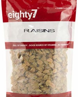Eighty7 Indian Green Raisins Kishmish, 1Kg