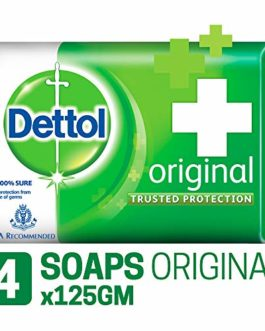 Dettol Original Soap, 125g (Pack Of...