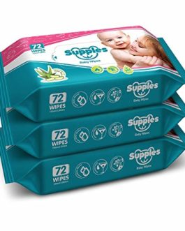Supples Baby Wet Wipes with Aloe...