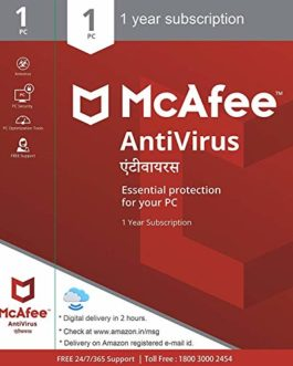 McAfee Anti-Virus – 1 PC, 1...