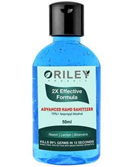 Oriley Waterless Hand Sanitizer 70% Isopropyl...