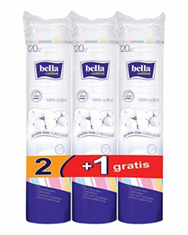 Bella Cotton Pads – 120 Pieces...