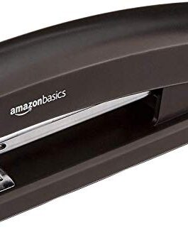 AmazonBasics Stapler with 1000 Staples – Black