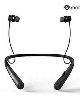Molife Boomerang Wireless Sports Neckband Bluetooth...