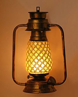 Somil Vintage Style Antique Lantern Lamp...