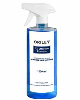 ORILEY Instant Hand Sanitizer 70% Isopropyl...